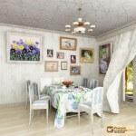 Вышитые картины в интерьере квартиры