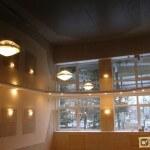Тёмный натяжной потолок: его достоинства, подходящий дизайн