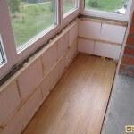 Материалы для утепления балкона изнутри: плюсы и минусы каждого