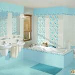 Голубой цвет в ванной комнате: сочетания, оттенки, его влияние