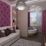 Как совместить спальню и гостиную? Варианты зонирования