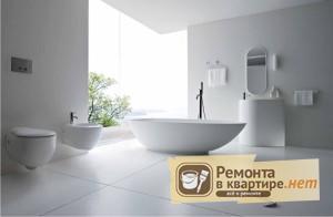 Фото дизайна белой ванной комнаты