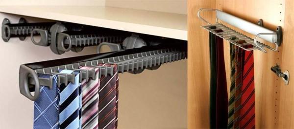 Галстучница в шкафу-купе