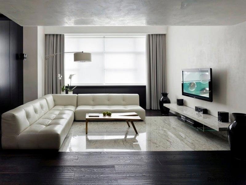 Фото дизайна гостиной в квартире минимализм