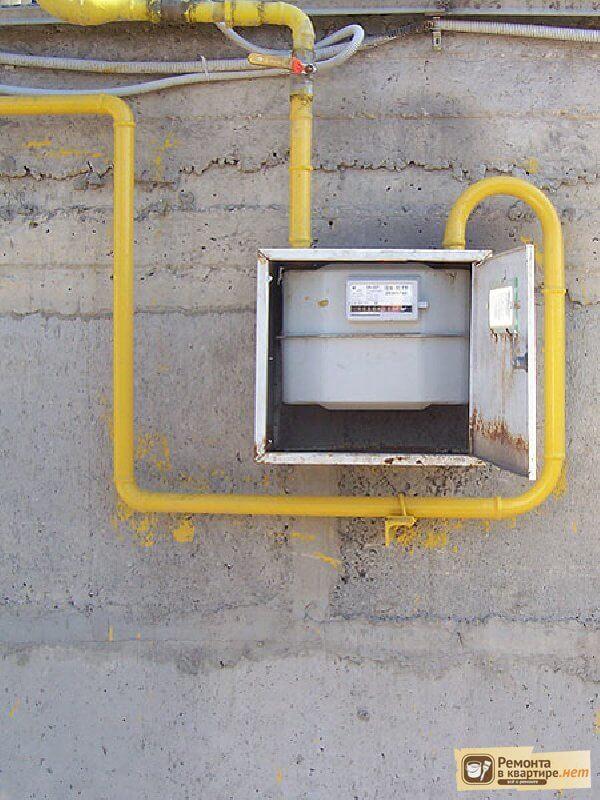 Нормы установки счетчика газа