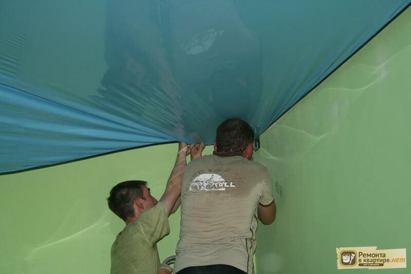 Монтажа натяжных потолков своими руками фото 667