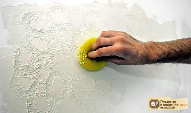 Сделать своими руками декоративную штукатурку