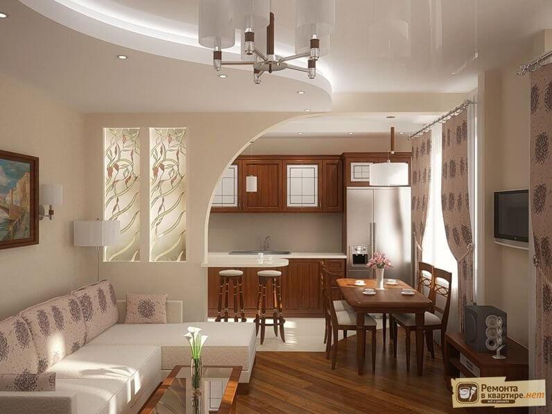 Дизайн кухни 7.8 кв.м